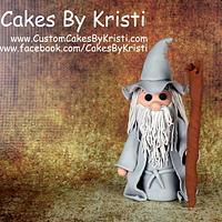 Fondant Gandalf Figurine