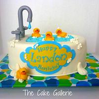 Rubber Ducky Cake
