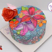 Edible stained glass