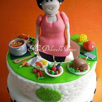 Ning's kitchen cake