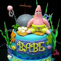 Patrick ( Spongebob ) Themed Cake