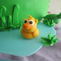 CuriOdyssey Cake by Meredyth Hite