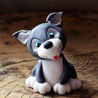 Husky Puppy (with Video Tutorial)