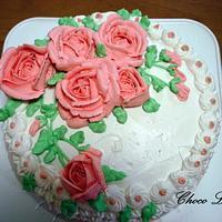Anniversary cake by Oceania