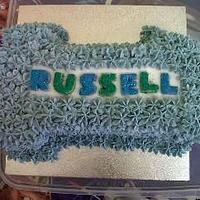 My first big cake