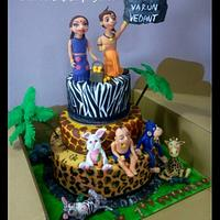 Chhota Bheem cake....