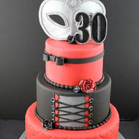 Cake inspired 50 Shades of grey