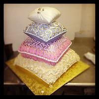 wedding pillows  by Svetlana