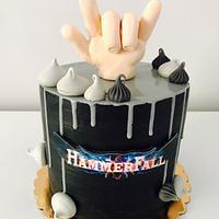 Hammerfall cake