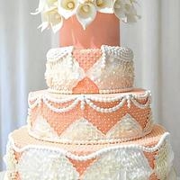 Summer Wedding Cake.