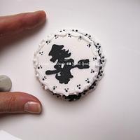 Epiphany mini cake