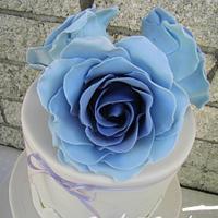 Vintage Lavendar Rose