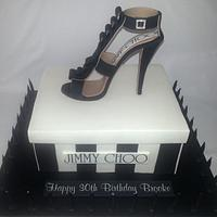 Jimmy Choo Stiletto  by Sweet Charm Cakes