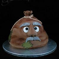 """Old sack"" Birthday Cake"