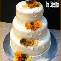 THE AUTUMN LEAVES CAKE