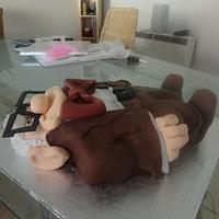 Mr Fredricksen cake by Andrea
