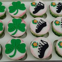 Irish dancing cupcake toppers