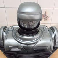 Robocop bust cake by Di's Delights