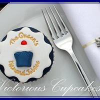 Queens Diamond Jubilee Cupcake
