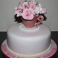 Vintage Roses & Pearls by Heaven's Cakes