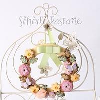 Spring Cookie Wreath