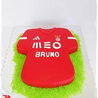 Benfica Shirt Cake