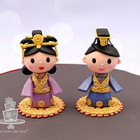 Empress & Emperor of CHINA Toppers for It's a Small World Collab