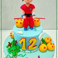 Dragonball cake