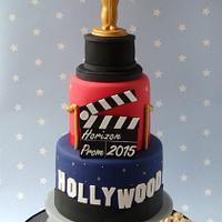 Hollywood Prom Cake