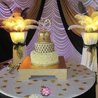 50th Birthday King's Crown cake