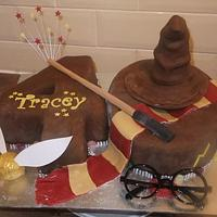 HARRY POTTER THEMED  40th BIRTHDAY CAKE