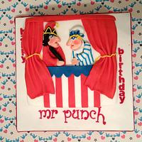 Punch and Judy Cake