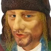 Kurt Cobain 3D