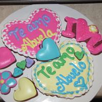 First royal icing cookies... by Tiffany Palmer