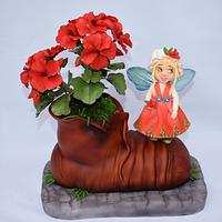 Manka  the Pelargonium fairy