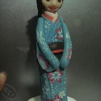 Kimono girl- topper