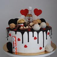 jim beam cake