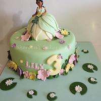 Princess Tiana Cake