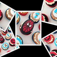 Boys birthday Cupcakes