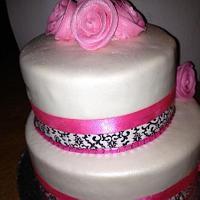 damask themed 30th birthday