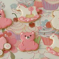Baby Shower Cookies by Deema