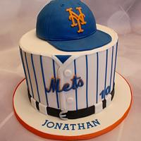 Let's Go Mets Cake
