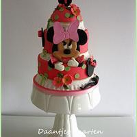 1st birthday Minnie