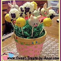 Easter Cake pops by Ansa