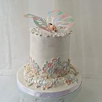 """Welcome Boyana!"" cake"