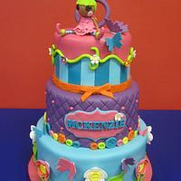 Lalaloopsy Birthday Cake by Kimberley Jemmott