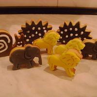 Animals cookies