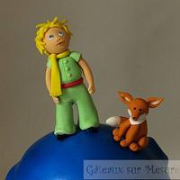 Little prince cake by Galina Duverne - Gâteaux Sur Mesure Paris