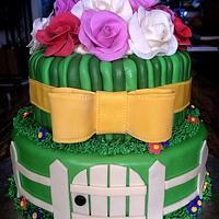Birthday/housewarming cake