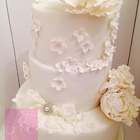 White Wedding Cake!